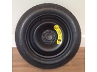 Ford Mondeo spare tyre and wheel