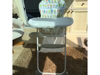 Joie Highchair as new.