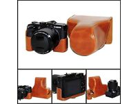 CANON PowerShot G3 X Brand-New + leather tailor-made cover