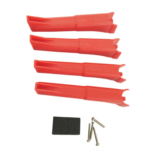 4 Pieces RC Drone Landing Gear for  H501S H501C X4 Spare Parts Red