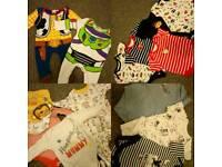 Baby boy clothes newborn, first size