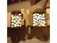 Practice: 10p each 2500+ Stock Titleist, B/stone, S/xon, C/away, T/made, Nike, W/son Staff & Others