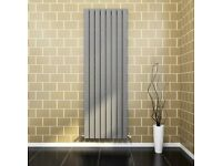 +SALE+ 1800x608mm Single Vertical Anthracite Radiator