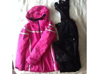 Ski Jacket and Salopettes - Girls Age 12