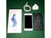 iPhone 6s As New Perfect Condition 8 Months Old with Designer Case & Boxed (3 Network)