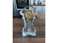 Waterford Crystal miniature carriage clock.