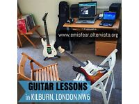 GUITAR LESSONS with PROFESSIONAL TEACHER (Master of Music at ICMP) in KILBURN