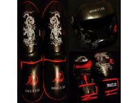 Bruce Lee Fight Gear (Boxing Gloves, Head Guard, Shin Guard)