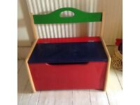 Children's Wooden Toy Box / Bench Seat