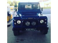Landrover Defender 90 full TD5 build LOW MILES