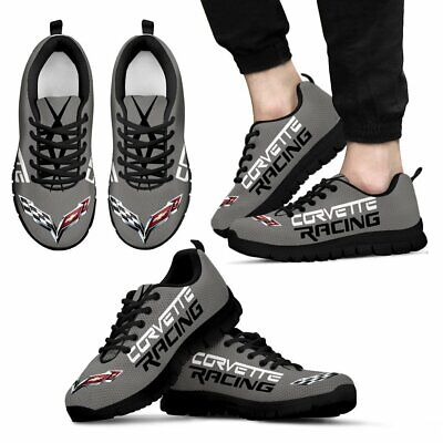 Corvette Racing Gray - Top Women's Shoes - Free shipping - Best gift for