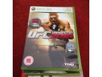 UFC 2010 Xbox game