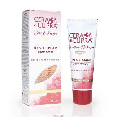 Cera Di Cupra Nuevo Crema de Manos 75ml - Nutritivo Y Protector...