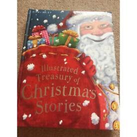 Miles Kelly Illustrated Treasury of Christmas stories book