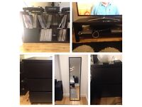 Ikea Furnitures In Black For Sale