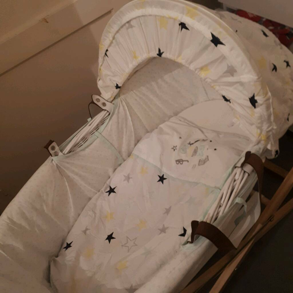 Baby k moses basket with stand