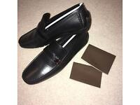 New Mens Louis Vuitton Moccassin Loafers Shoes with box size 6