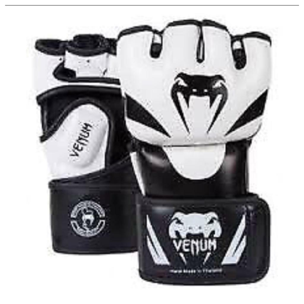 Venum Attack MMA Gloves - Large Skintex Leather