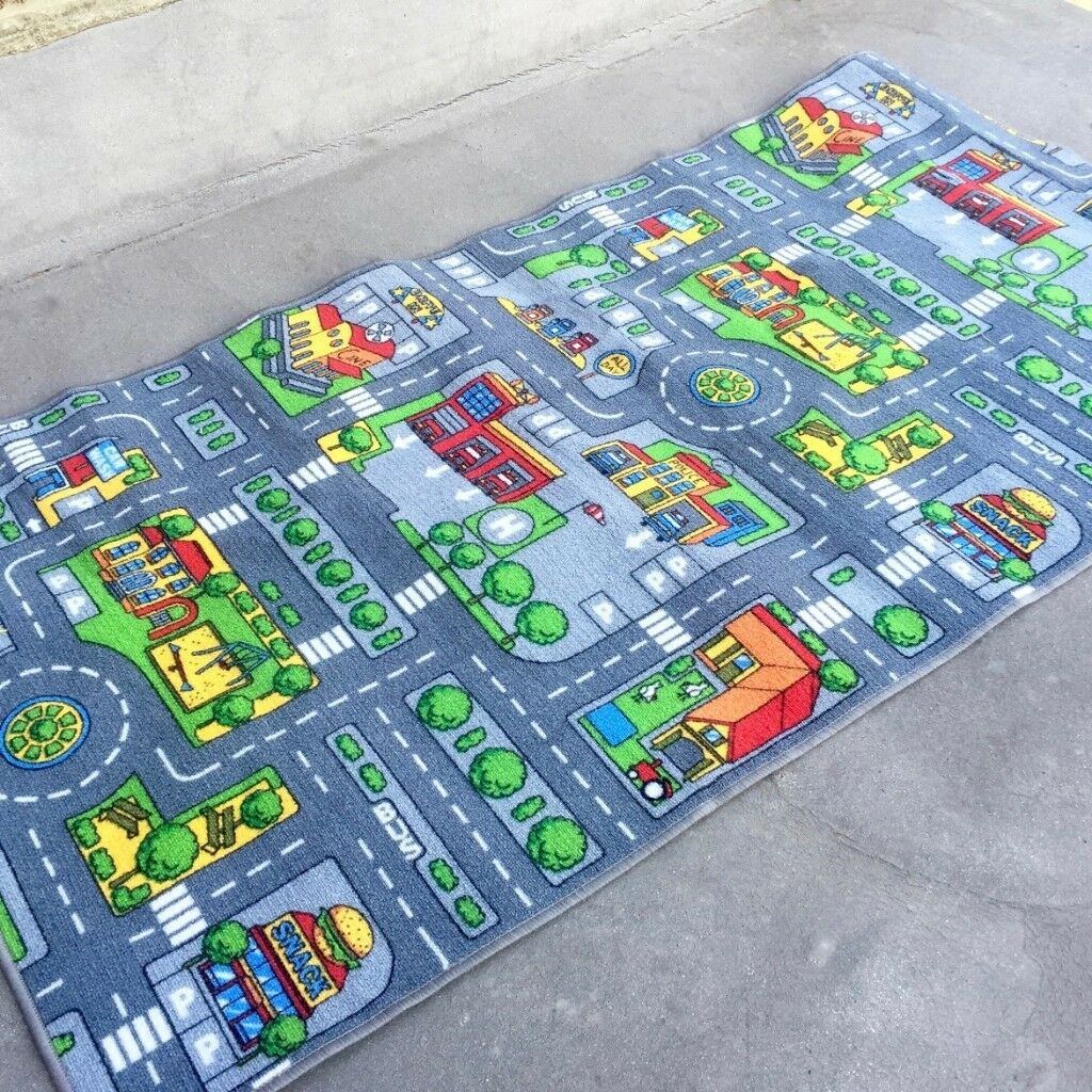 Toy Children's Play mat Town Car Village Play Road Map Mat Kids  Like New  £10  Pick up HA6 | in North West London, London | Gumtree