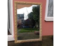 Large Wall Mirror, Broken