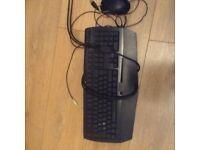 Razer keyboard, Razer mouse and Razer mouse pad