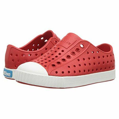 Native Shoes, Jefferson, Kids Shoe - red/white