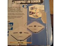 Compact AV sender