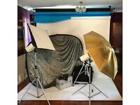 Complete Photography Studio Set Up Mobile or Static