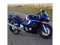 SUZUKI GSX 750 F. IN LOVELY CONDITION ONLY 3700 MILES ALL MOT TO BACK UP MILAGE