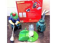 Vintage remote control golfer/adult desktop / toy /game