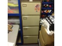 Roneo 4 Drawer Filing Cabinet with keys
