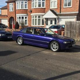 Bmw 738i E38 INDIVIDUAL 7 Series -- OPEN TO OFFERS
