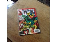 Marvel Wolverine comic #71 (1993) in very fine / near mint condition