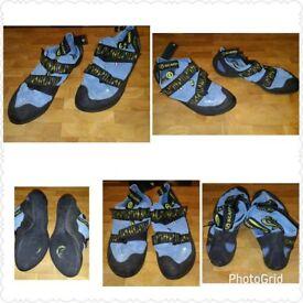 Scarpa Veloce climbing shoes size 6.5