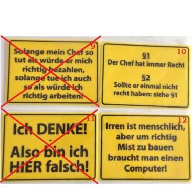 Lustige Spruche Schilder Aus Kunststoff Holz Spassschilder In