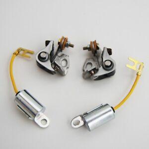 1977-79 Suzuki CONDENSER & CONTACT POINTS KIT tune up gs1000 gs850 gs750 gs 1000