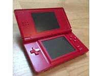 Nintendo DS Lite and 2 Games