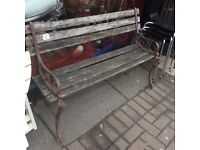 2 X vintage benches