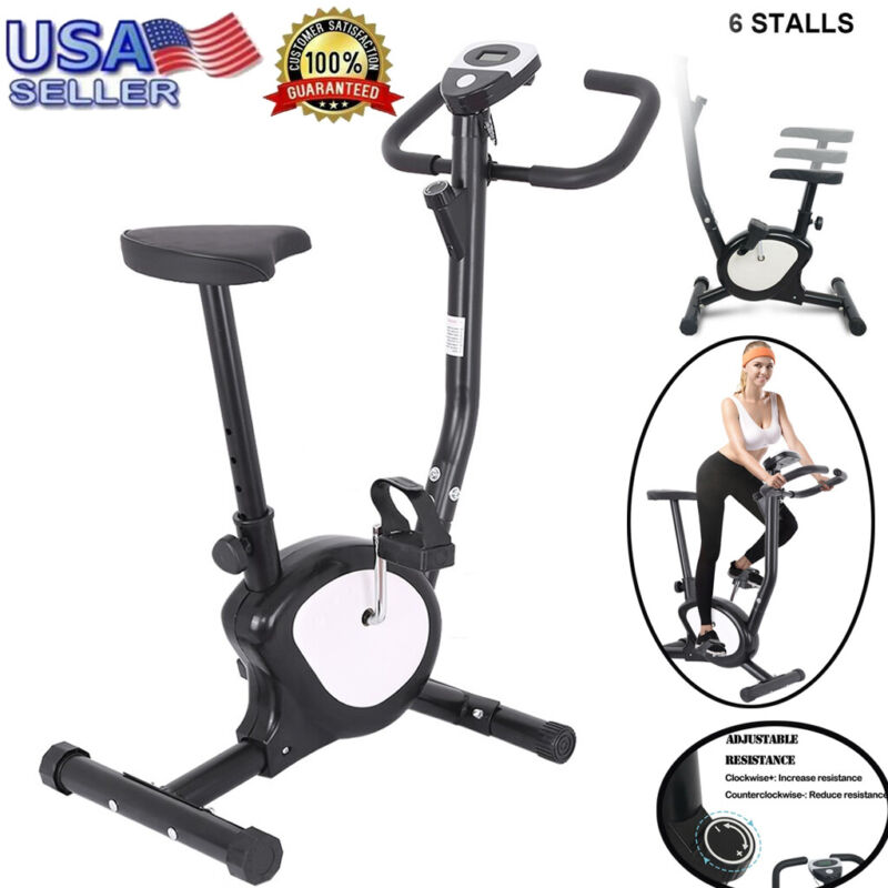 Exercise Machine Bicycle  Fitness Trainer Cardio Home Gym Wo