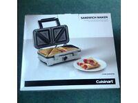 Cuisinart Sandwich Maker - new