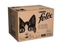 Felix Mixed Variety in Jelly Cat Food Pouches 120 pk