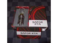 VAPING - AUTHENTIC WOTOFO SAPOR 25mm RTA