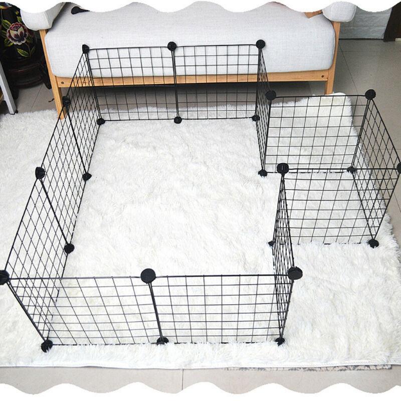 metal pet playpen dog kennel pets fence
