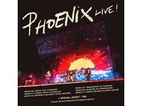 3 Tickets for Phoenix at Olympia Theatre Dublin 27th March