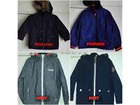 4 boys coats - Age 3-4