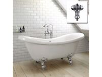 BRAND NEW Freedstanding Roll Top Bath Tub