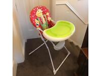 Baby High Chair (2 available which are exactly the same)