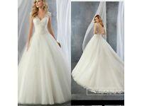 Wedding dress ronald joyce size 10 ( jordan dress)