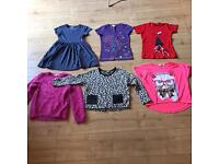 Bundle of girls clothes age 7-8