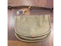 UGG Australia Small leather handbag in copper colour clutch bag, Kilburn NW6